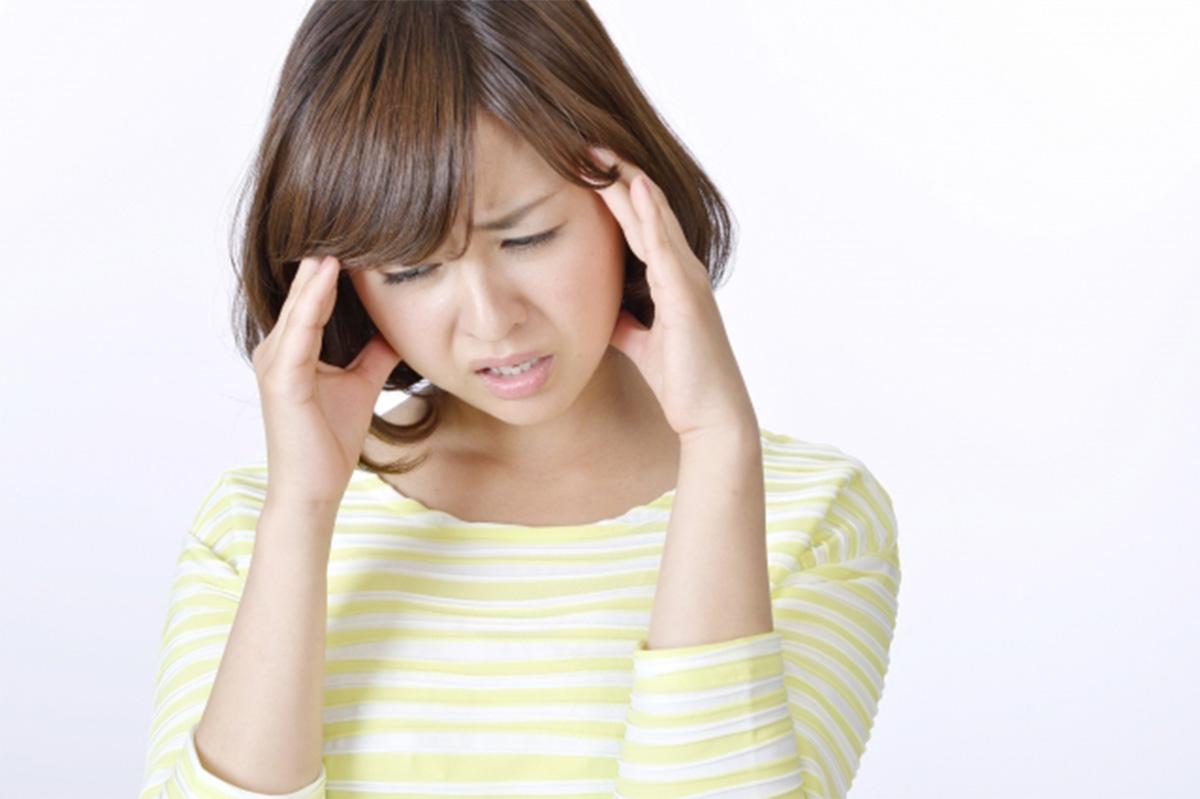頭痛・頭重・肩こりイメージ
