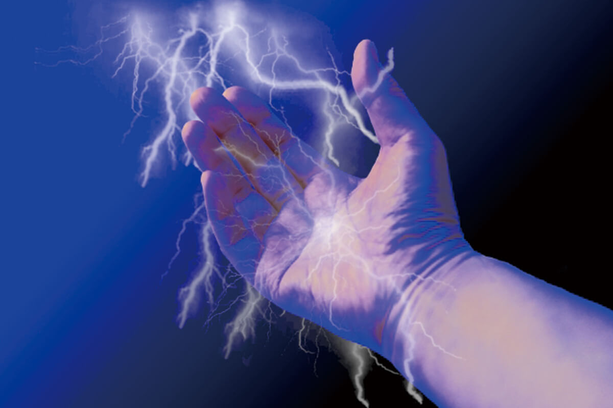更年期障害で手がしびれるイメージ